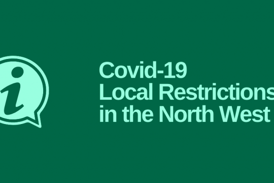 Covid-19 Local Restrictions in the North West