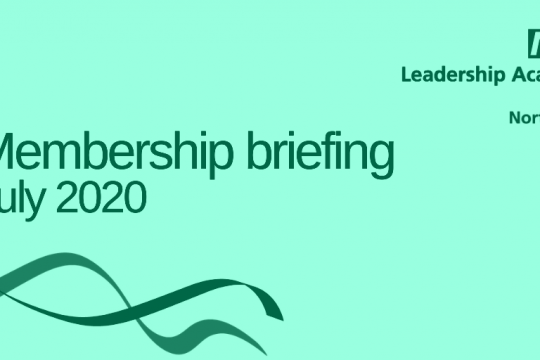 Membership briefing | July 2020