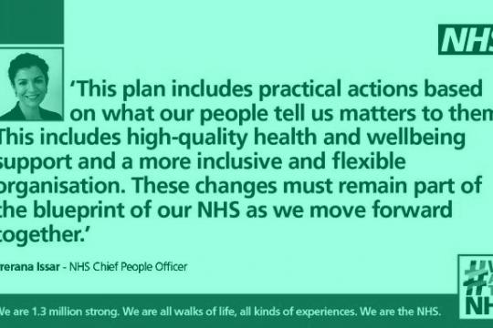 NHS People Plan now live