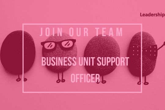 We're recruiting - Business Unit Support Officer